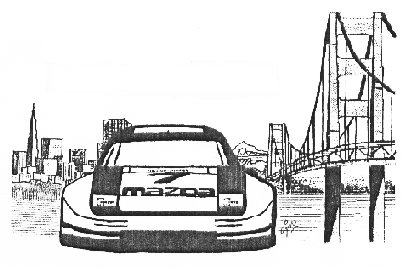 drawing of GT Rx7 in SF